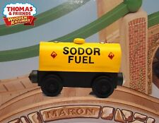 THOMAS & FRIENDS WOODEN RAILWAY ~ SODOR FUEL CAR ~ MINT LOOSE NEVER PLAYED WITH