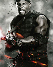 TERRY CREWS AUTHENTIC EXPENDABLES SIGNED 10X8 PHOTO AFTAL & UACC [14995]