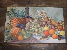 Kolonialkriegerdank ca. 1915 Früchte aus unseren Kolonien