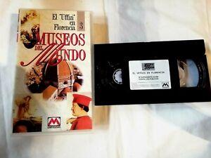 El Uffizi En Florencia 3 Museos de Mundo Cinta VHS Metrovideo1994 Pal Usado