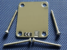 2012 Fender Highway One Stratocaster Blank NECK PLATE Strat Tele Electric Guitar
