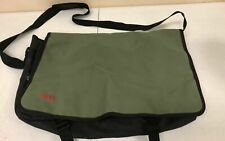 Hugo Boss Men's Messenger Laptop Shoulder Bag Crossbody Satchel Olive Green aa23