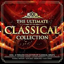 THE ULTIMATE CLASSICAL COLLECTION 3 CD SET VARIOUS ARTISTS (Released 9/11/2018)