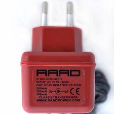 Fuente de alimentación reguladas RAAD EURO DC 9 V Pedal de efecto negativo Punta Stromversorgung
