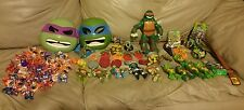 Teenage Mutant Ninja Turtles HUGE LOT of Action Figures & MORE