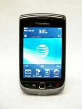 AT&T BLACKBERRY TORCH 9800 BLACK~ GSM UNLOCKED~NO CONTRACT~