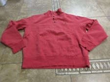 Vtg Polo Ralph Lauren Rl Sweatshirt Sz L Men Sport Red Usa 90S