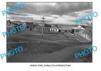 OLD LARGE PHOTO ARTHURS CIRCUS BATERY POINT c1940 HOBART TASMANIA