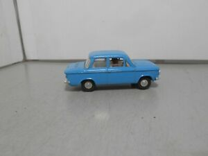 TRIANG  SPOT ON  NSU PRINZ  4  blue 193  vintage classic car 143