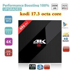 2017 H96 Pro+ PLUS 2+16GB Android 7.1 Smart Tv Box 4k kodi 17.3 Octa Core S912