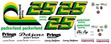 #25 Larry Detjens Packerland Camaro 1970-78 1/24th - 1/25th Scale Decals