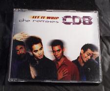 CDB - Let It Whip - The Remixes - CD Single - Australia