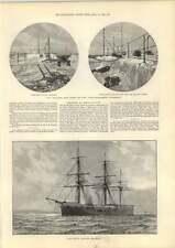 1889 Disaster Hms Sultan Rev Jg Wood Channel Collision Vandalia