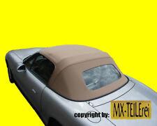 MAZDA MX-5 NB NA Verdeck Dach Stoff sandfarben STOFFVERDECK beige Luxus NEU
