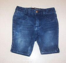 Infant Girl's Freestyle Revolution Blue Denim Shorts 2 Toddler