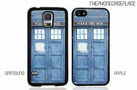 Doctor Who Dr. Who Tardis Phone Case for Apple or Samsung Phone Case Cover