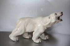 Dahl Jensen Royal Copenhagen Sehr selltene Figur eines Eisbären alt 1. Wahl