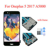 For Oneplus 5 A5000 LCD Display + Touch Screen Digitizer + Frame