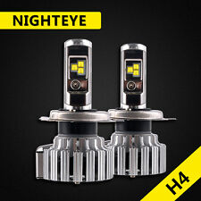 Nighteye H4 HB2 LED Headlight Kit Light Bulb 9000LM 80W Hi/Low Beam Super White