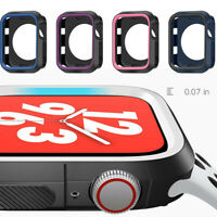 Protective Watch Protector TPU Case Cover Bumper For Apple Watch Series 4 3 2 1