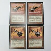 Phyrexian War Beast x4 Alliances LP/NM Artifact Magic the Gathering MTG Common