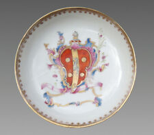 More details for 1750 antique chinese armorial tea bowl d'arville qing vase plate teapot