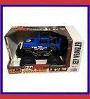 New RC Bright - RC Trucks 1:24 - Blue Jeep Wrangler