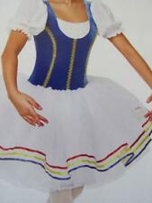 Velvet Ribbon Maiden Peasant Dance Curtain Call Costume Piped CMED