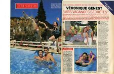 Coupure de presse Clipping 1994 Véronique Genest  (4 pages) Julie Lescaut