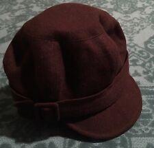 Wallaroo Hat Collection Devon Wool Cap Buckle Detail Warm Australia Brown