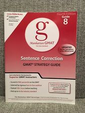 Sentence Correction GMAT Preparation Guide, 4th Edition (8 Guide Instructiona...