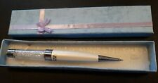 SWAROVSKI CRYSTAL BALLPOINT  PEN ORIGINAL BOX.  WORKING ORDER.