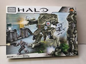 Mega Bloks Construx Halo 97115 UNSC Mantis MISB COMPLETE and SEALED