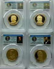 PCGS 2011-S Proof PRESIDENTIAL DOLLAR Set $1 PR69 Johnson Grant Hayes Garfield *