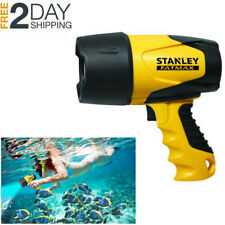 Powerful Waterproof LED Handheld Spotlight Rechargeable Underwater Diving Light