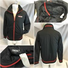 CCM Hockey Varsity Jacket Small Black Full Zip NWT $90 YGI E8-366