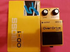 Boss OD-1 Overdrive Guitar Effect Pedal