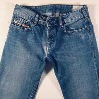 Mens DIESEL Zatiny Jeans W30 L34 Blue Bootcut Wash 008AT