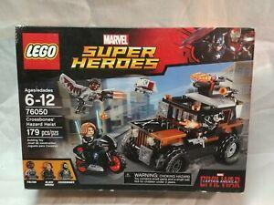 LEGO 76050 Marvel Super Heroes Crossbones' Hazard Heist Factory Sealed NIB