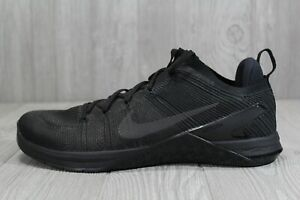 43 Nike Metcon DSX Flyknit 2 Triple Black Training Shoes Size 12.5-15 924423-004