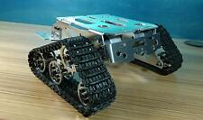 CNC Metal Robot Model caterpillar Track Tank Chassis Crawler pedrail Wall-E Toys