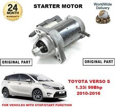 FOR TOYOTA VERSO S 1.33 MPV 2010-2016 NEW ORIGINAL STARTER MOTOR