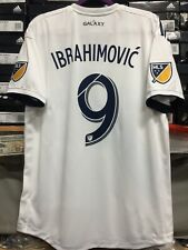 Adidas La Galaxy Home Jersey 2019 # 9 Ibrahimovic  Authentic LE size M   Only