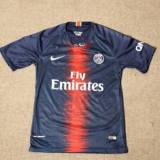 NIKE PARIS SAINT-GERMAIN HOME JERSEY 2018-19 Mens SMALL - PSG Neymar Mbappe