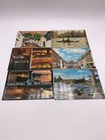 Vintage Lot of 6 Souvenir Postcards Italy
