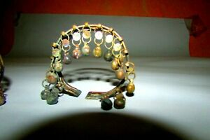 Two Antique Handmade Bangles/ silver made by one of tribes in Sinai, Jewelry