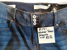 R140a - Women's Torrid Jeggings Blue Jeans Size R22