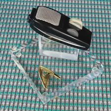 Star Trek TOS, P1 Onyx Black Fiberglass Phaser, Green Laser, Displayer, No Sound