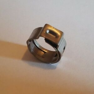 """50 PIECES 3/8"""" STAINLESS STEEL PEX CINCH CLAMPS"""