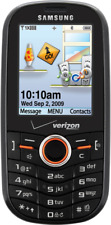 Samsung Intensity SCH - U450 - Black (Verizon) Cellular Phone Page Plus